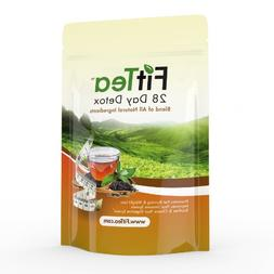 Fit Tea 28 Day Detox Herbal Weight Loss Tea - Natural Weight