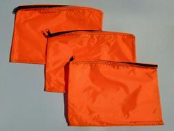 60 Fluorescent Safety Orange Water-Resistant Storage Organiz