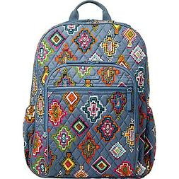 Vera Bradley Women's Campus Tech Backpack Painted Medallions