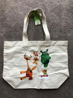 Baby TV Westford Mill 100% Organic Cotton Canvas Tote Bag 20