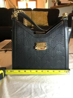 BRAND NEW WITH TAGS Michael Kors Bag with Gold Chain - Black
