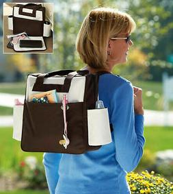 Diaper Bag Backpack Travel Baby Bag Pack Purse Pad Nappy Org