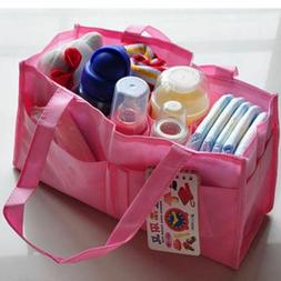 Diaper Bag Organizer Insert For Tote Purse Baby Nappy Changi