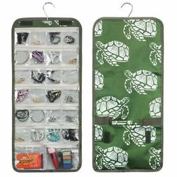 Fashionable Practical Jewelry Hanging Travel Organizer Roll