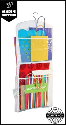 Gift Bag Organizer Storage For Gift Bags Bows Ribbon And Mor