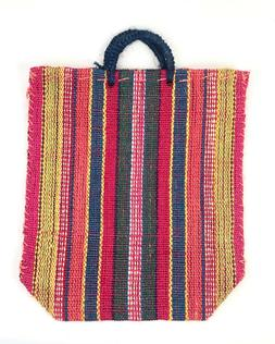 Hand made Mexican Natural Organic Jute market bag:  Beautifu