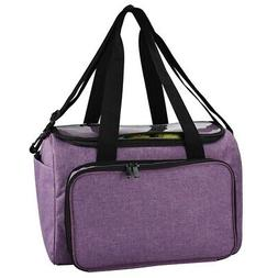 Knitting Bag Yarn Tote Organizer With Inner Divider For Wool