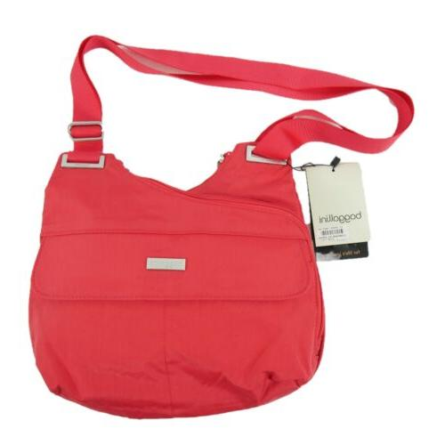 new travel bagg crossbody purse red water