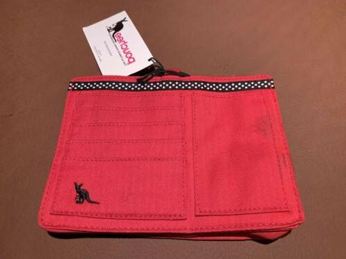 nwt purse ultimate organizer red with black