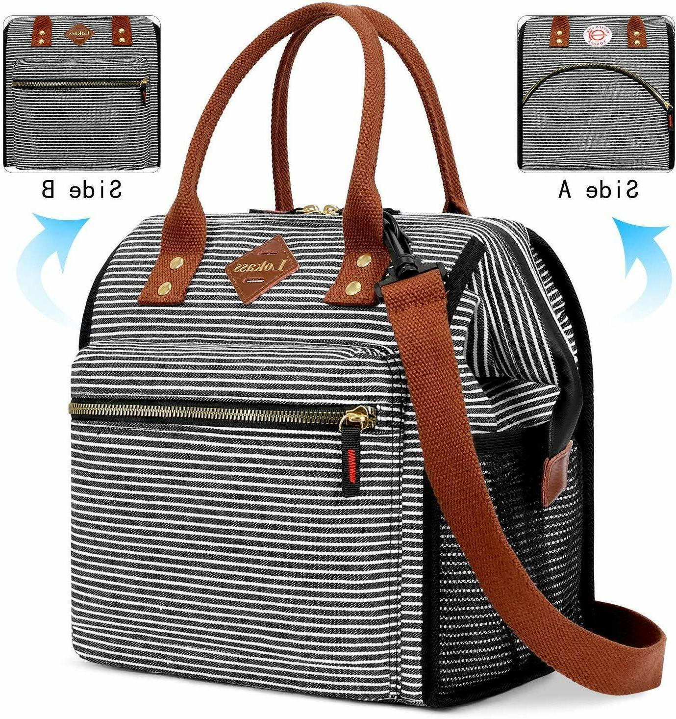 stylish lunch bag thermal cooler tote organizer
