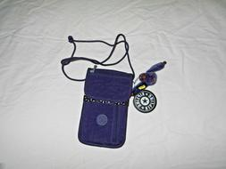 KIPLING Mini Travel Organizer Bag Crossbody Bag Purple NWT