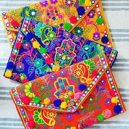 Moroccan Handmade And Colorful Organic soft Cotton and wool