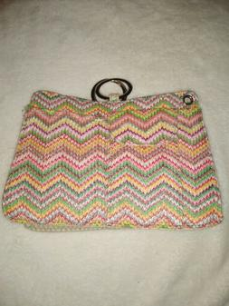 NEW POUCHEE PLUS DELUXE MEDIUM HAND BAG , PURSE FREE SHIPPIN