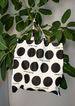 NEW WITH TAGS Gudrun Sjoden LOGO tote bag, Finland Organic C