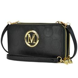 Women Wallet Faux Leather Purse Card Holder Clutch Bag with