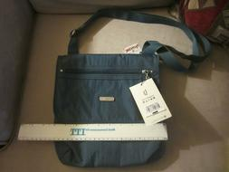 NWT Baggallini Crossbody Purse Bag Travel Organizer Nylon Bl