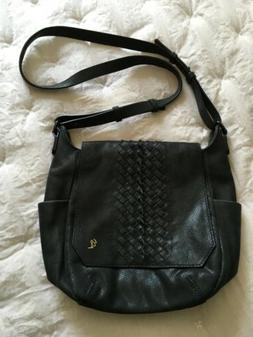 Elliott Lucca Peebled and Quilted leather purse handbag shou