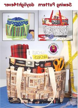 McCall's Sewing Pattern M7265 Totes Craft project bags Handb
