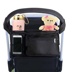 Smarkey Stroller Bag Organizer with Cup Holders Secured Fit