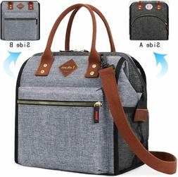 Stylish Lunch Bag Thermal Cooler Tote Organizer Insulated Le