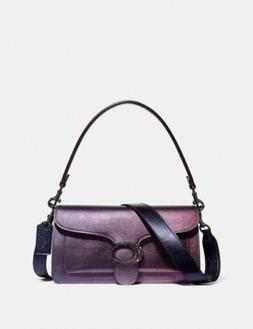 🔥Coach Tabby Shoulder Bag 26 With Ombre #79345 Pewter/ Mu