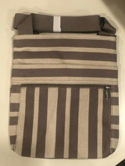 Thirty One, Organizing Shoulder Bag, Double Stripe, New In P