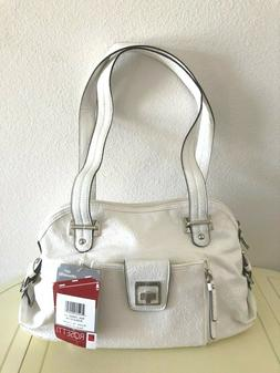 "Women's Rossetti ""BUCKLE DOWN"" Satchel Handbag w Organizer P"